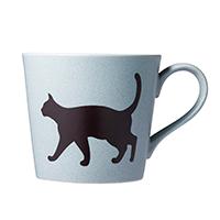華猫のマグカップ