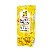 豆乳飲料 ちょっと贅沢なレモンティ シチリアレモン